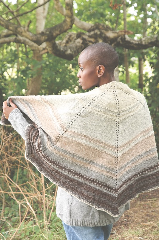 Journey knitted scarf