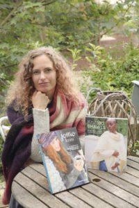 Christine and her books
