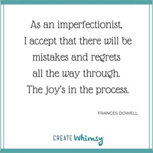Frances Dowell Quote