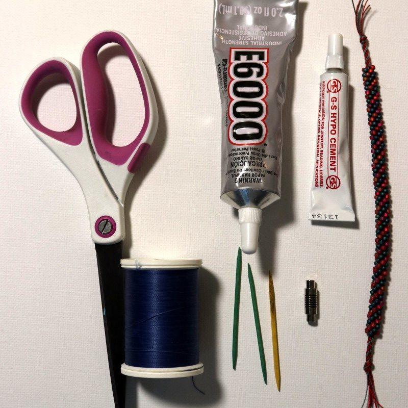 Make Kumihimo Bracelet Supplies