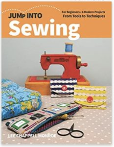 Lee Chappell Monroe Jump into sewing book cover