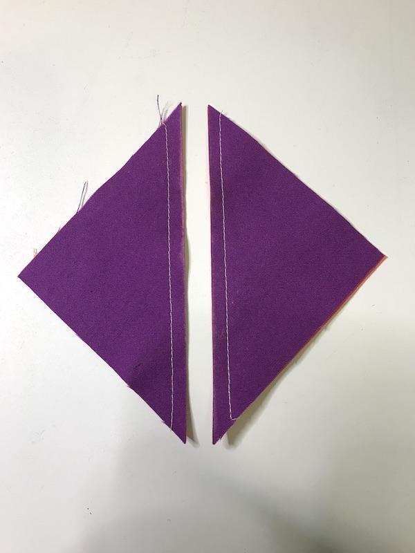 Simplex Star half square triangles cut