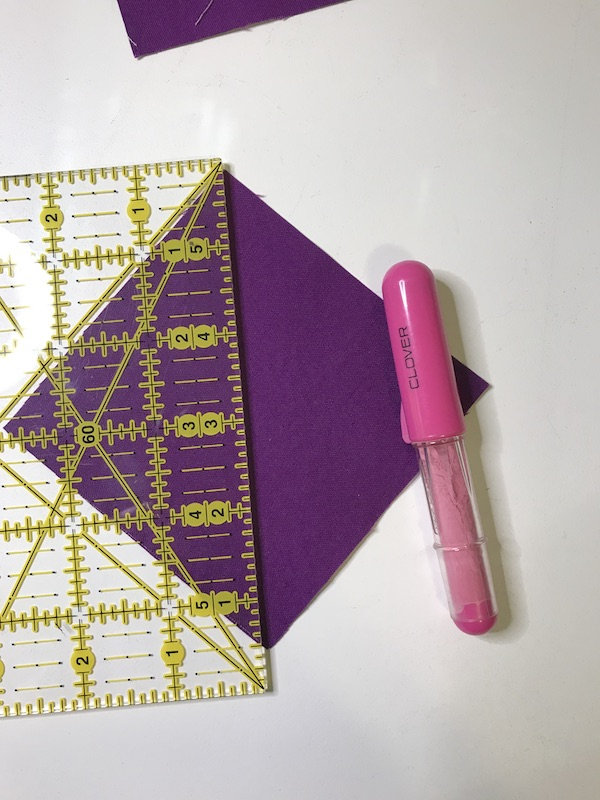 Simplex Star marking tools for the half square triangle