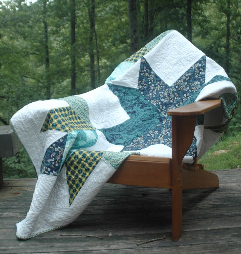 Designer star quilt by Lee Chappell Monroe