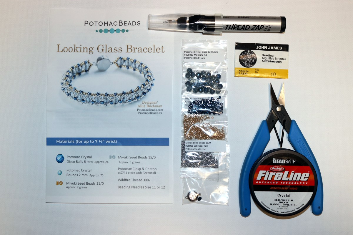 Looking Glass Bracelet Gather Supplies