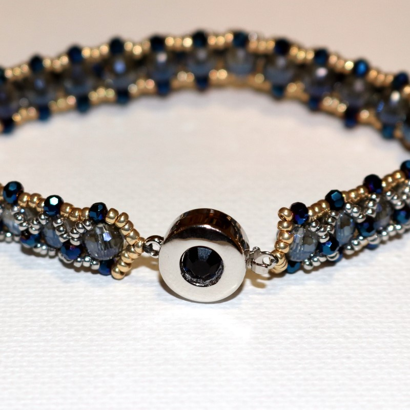 Looking Glass Bracelet Finished Square