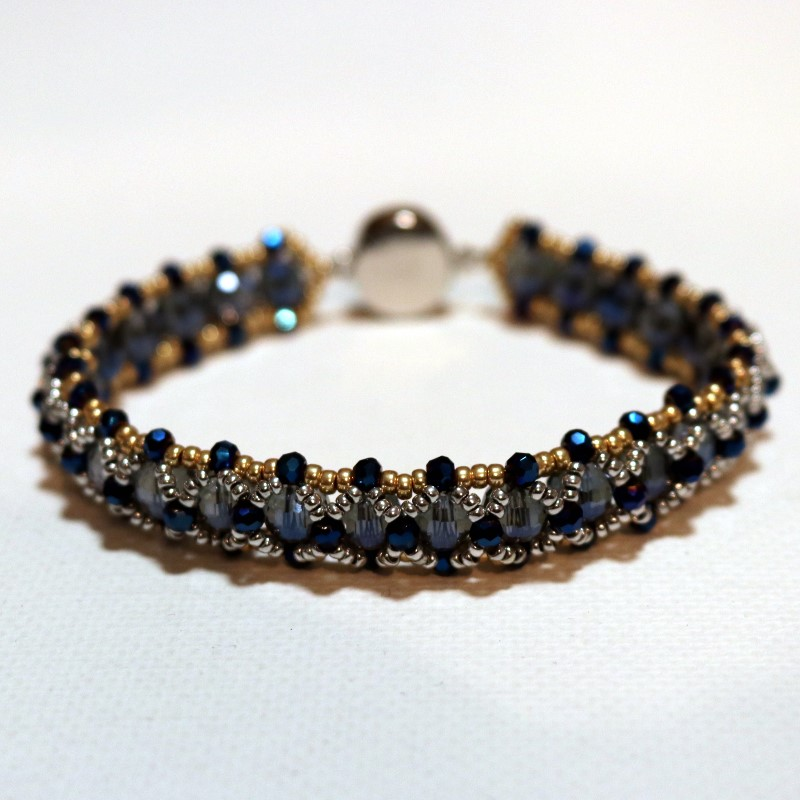 Looking Glass Bracelet Finished from Back