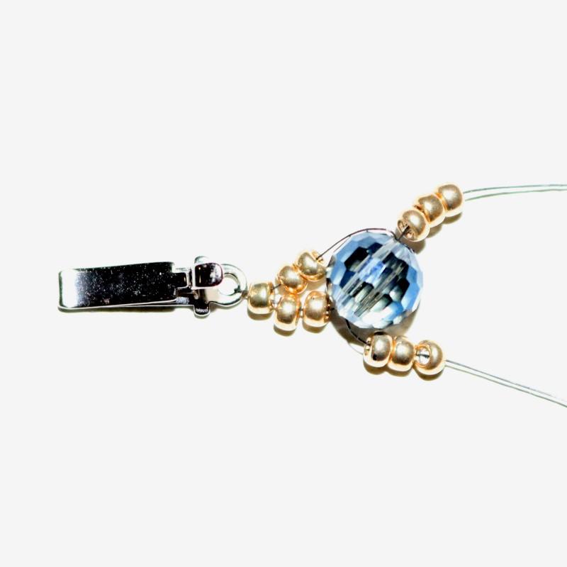 Looking Glass Bracelet Add 3 11s on each needle
