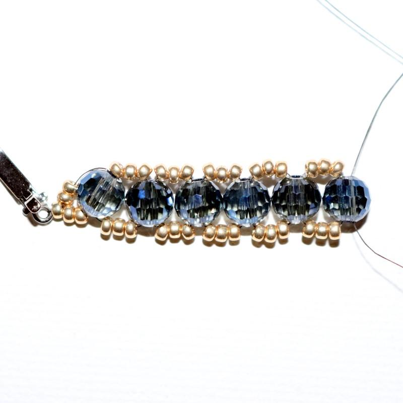 Looking Glass Bracelet repeat until desired length