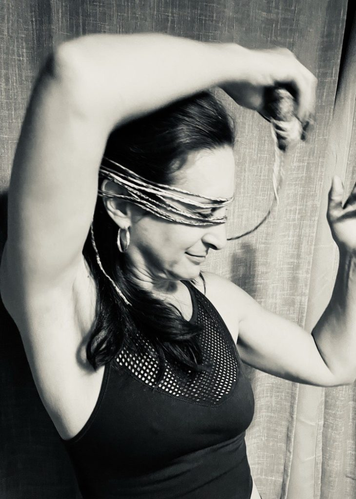 Ellen Rubin finds inspiration from her stash of yarn.