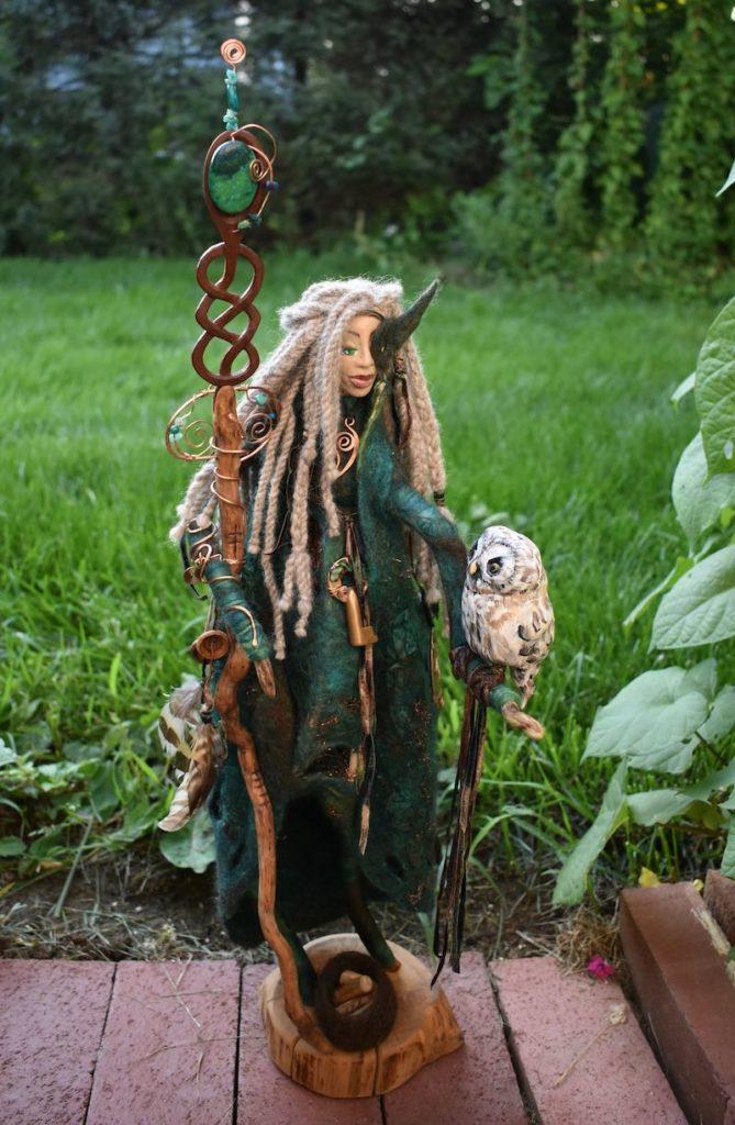 Dark Mother Goddess by Sharon Riley