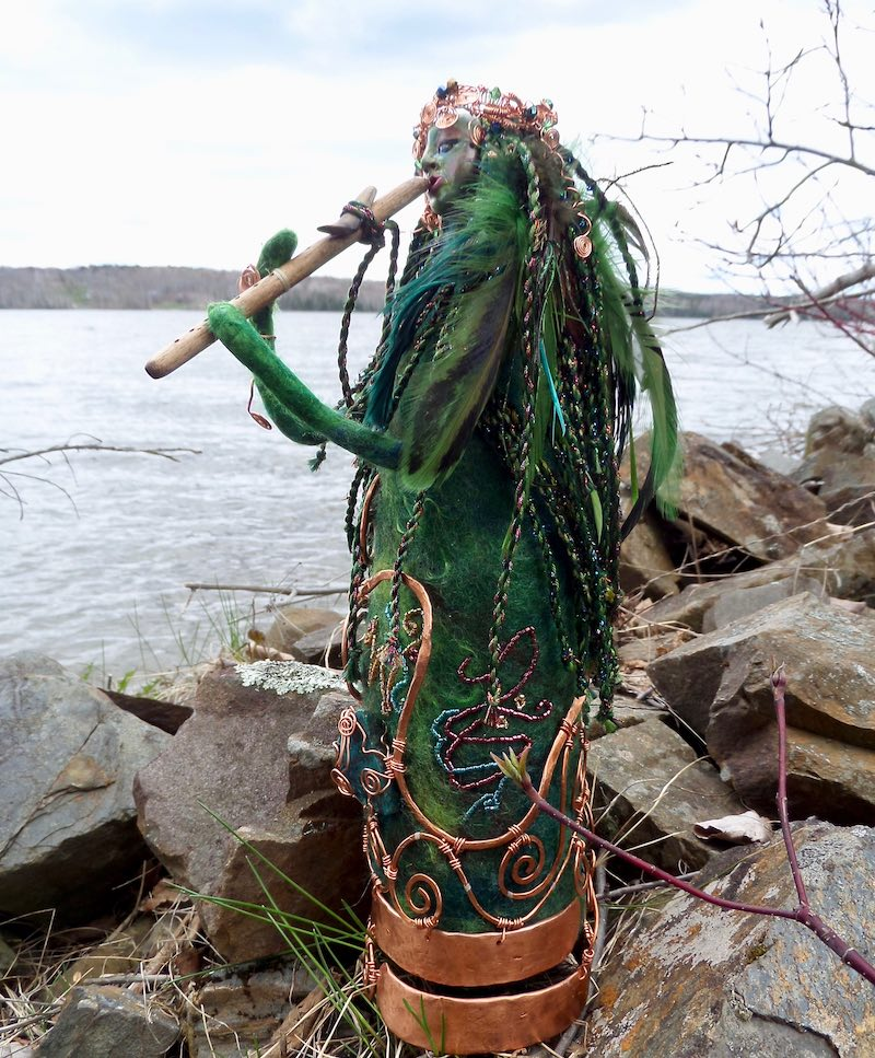 Guardian Keeper of the Sounds of Heaven by Sharon Riley